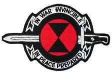 US 7th Infantry Division IN WAR INVINCIBLE - IN PEACE PREPARED Embroidered Patch