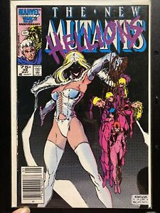 Marvel New Mutants #39 Hellions Comic New Sealed 1986