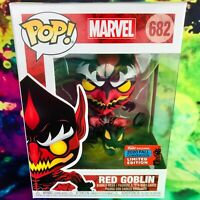 Red Goblin 2020 NYCC Shared Exclusive Marvel Funko POP! *Mint with Protector*