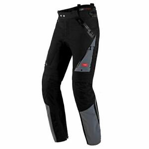 Spidi Globetracker Motorbike Motorcycle Pant H2Out Textile Trouser Black / Grey