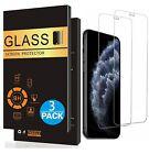 3x Panzerfolie iPhone X XR XS MAX 11 PRO MAX Schutzglas Display Hartglas 9H
