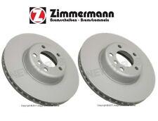 BMW F22 F23 F30 435i 335i 228i Front Left & Right Disc Brake Rotors Zimmermann