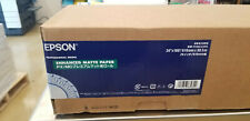 "Epson Enhanced Matte Inkjet Paper (24"" x 100' Roll) #S041595"