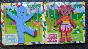 In The Night Garden Wooden 3 Piece Shape Puzzle Age 12+ Months 2 Styles