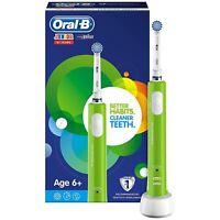 Oral-b Junior Bambini Spazzolino Elettrico Ricaricabile per Invecchiato 6 Verde