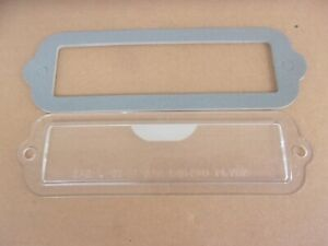 NEW License Lamp Lens PLYBZ FITS Various 1959-65 Plymouth Dodge Desoto Chrysler