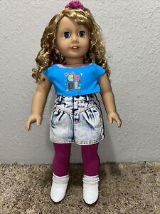 American Girl Courtney Doll EUC