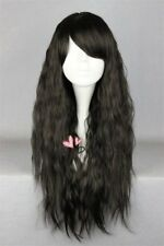 Lolita Black Long 60CM Wavy Fashion Party Cosplay Wig Heat Resistant