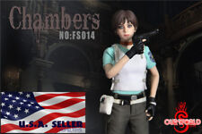 1/6 Rebecca Chambers Resident Evil Figure Full Set w/ seamless body FS014 ❶USA❶