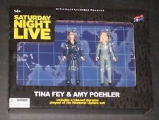 SATURDAY NIGHT LIVE TINA FEY AMY POELER WEEKEND UPDATE FIGURES & DIORAMA SNL NEW
