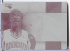 Gerald Wallace Card #83 Magenta Plate Printing Plate 1/1 Panini 032420DBCD