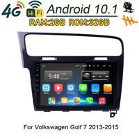 32GB Android 10.1 Car DVD Player 4G Wifi Radio GPS Navi Stereo For VW Golf 7 MK7