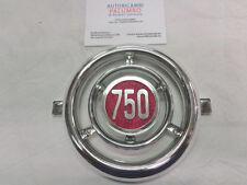 Fregio mascherina anteriore front grille badge Fiat 600 D - 750 Nuova PA