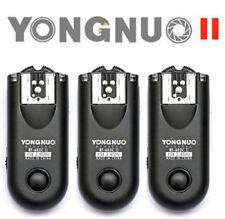 3pcs Yongnuo RF-603 II C3 wireless Transceivers for Canon 5D/50D/40D/7D