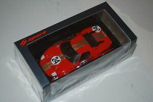 Spark S2772 Ford GT 40 AMR2 #24 12H Sebring 1966 - G Hill/J Stewart 1/43 Scale