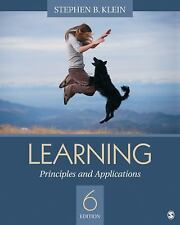 Learning: Principles and Applications, Klein, Stephen B., Good Book