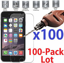 "100x Wholesale Lot Tempered Glass Screen Protector for Apple iPhone 6 6S  (4.7"")"