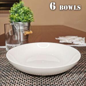 Set of 6 pcs British Airways Bowl Soup / Pasta Bowls, Size:185mm Dia, NEW