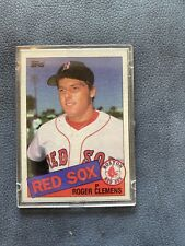 1985 Topps Roger Clemens Boston Red Sox #181 Baseball Card
