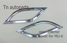 CHROME REAR REFLECTOR COVER TRIM FOR ALL NEW ISUZU MU-X MUX SUV 2012-ON