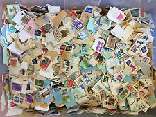 Foreign Stamps Bulk Lot-On Paper 1+ lb. Mix-For Art,Crafts,Decoupage, Collage