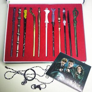 11P Different Magic Wands Set Harry Potter Hermione Dumbledore Sirius Voldemort