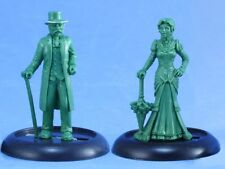 Victorian Lady & Dame Chronoscope Reaper Miniatures Steampunk RPG Dress Top Hat