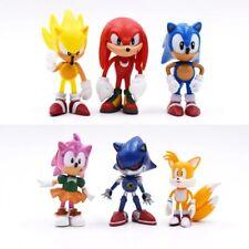 🔥 Lote 6 Figuras SONIC The Hedgehog Nuevas