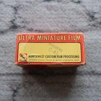 Expired 70s Ultra Miniature Film ASA-80 Minolta Camera Vintage
