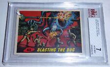 1962 Mars Attacks Blasting the Bug Card #43 BVG 7 Like PSA BGS Aliens UFO Horror