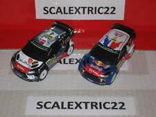 DS 3 WRC 2015 Rally catalunya y Ds 3 WRC 2015 Rally germany CARRERA GO 1:43