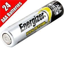 24 Energizer Industrial AAA batteries LR03 1.5V  EN92