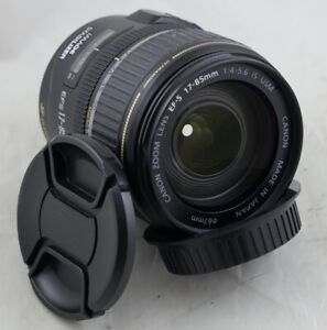 Manual focus only! Canon EF-S 17-85mm f4-5.6 IS USM Macro Lens