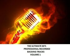THE ULTIMATE 80'S PROFESSIONAL RECORDED BACKING TRACKS VOLUME 1