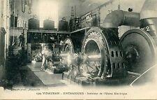 CARTE POSTALE / LE VAR / VIDAUBAN ENTRAIGUES INTERIEUR DE L'USINE ELECTRIQUE