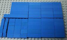 60 LEGO Blue Bricks 1x1 1x2 1x3 1x4 1x6 1x8 VGC MULTI DISCOUNT
