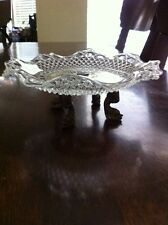 Vintage Dolphine Footed Candy Dish