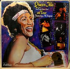 Queen Ida & the Bon Temps Zydeco Band on Tour Featuring Al Rapone LP NM Shrink
