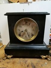 Antique all wood Sessions mantel or shelf clock,