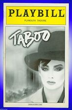 Playbill + Taboo + Raul Esparza , Boy George , Liz McCartney , Euan Morton