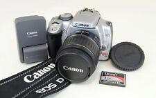 Canon EOS Rebel Silver XTi 400D 10.1MP DSLR Digital Camera Kit w/18-55mm Lens