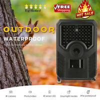 Outdoor Wildlife Trail Hunting Camera 1080P Video 12MP IR Waterproof Camcorder❤