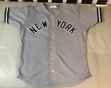 Vintage Sand Knit New York Yankees Joe DiMaggio MLB Jersey Men's Size 44 L NM
