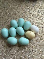 10 x Mixed Plastic Eggs