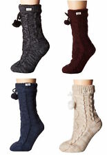 Womens UGG Pom Pom Fleece Lined Sock - Different Colors Available [1014837]