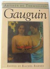 Gauguin (Artists by Themselves S.),Rachel Barnes