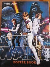 More details for the star wars poster book usa hardback book