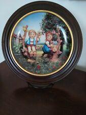 "Danbury mint collector plates ""Hummel"""