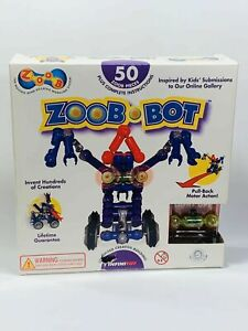 ZOOB-Bot Construction Building Set 50 Piece Toy - Brand New - Never Opened