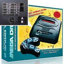 Mega Drive console, Megakey MULTI REGION, Overclock Switch, UK Plug, NEW boxed